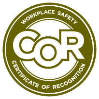 COR Seal - Workplace Safety, Certificate of Recognition